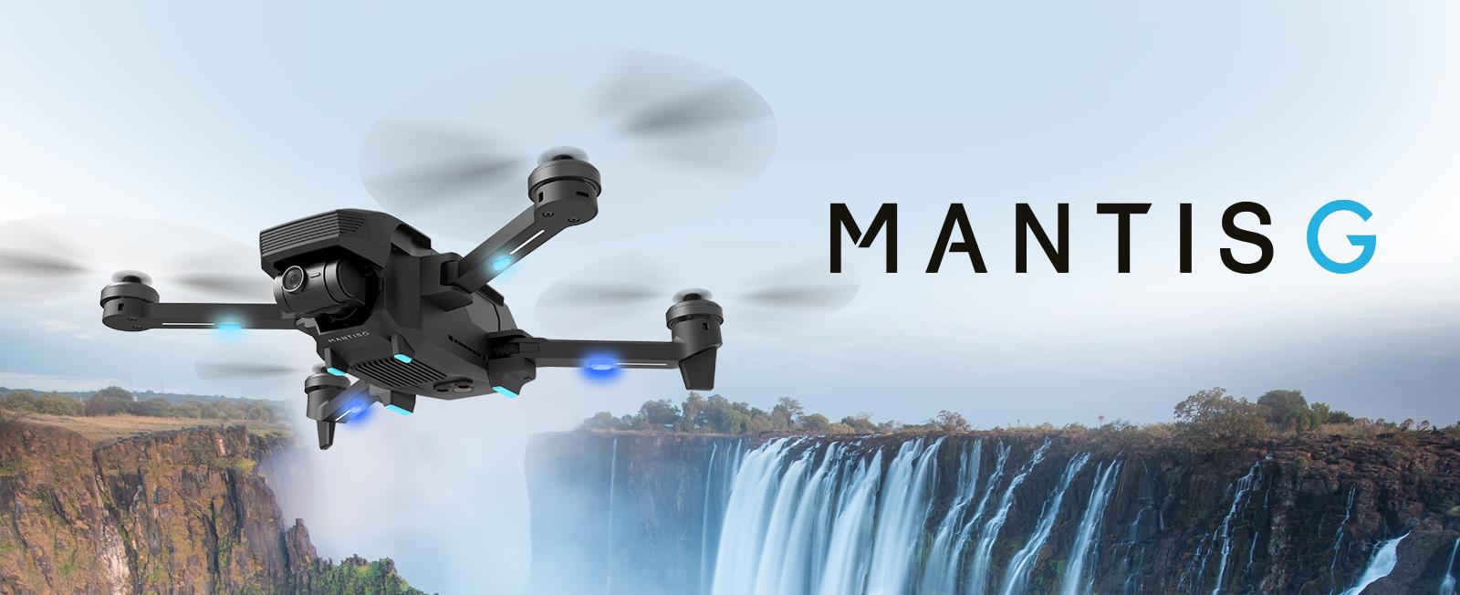 Mantis G dron podróżny